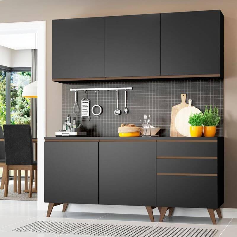 Cozinha Compacta Madesa Reims