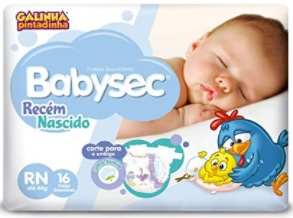 Babysec Recém Nascido