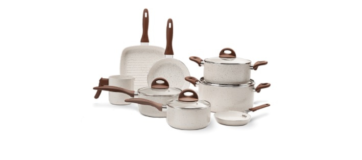 Jogo de Panelas 8 Peças Ceramic Life Cookie Brinox