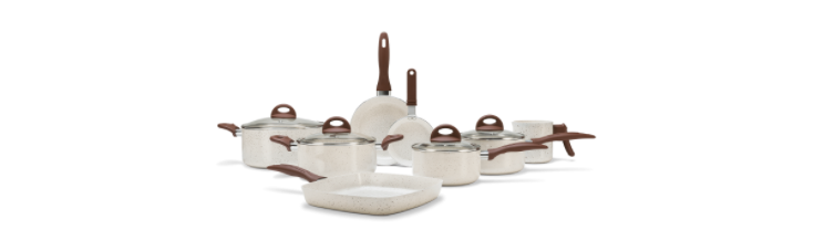 Jogo de Panelas Antiaderentes Brinox Ceramic Life Smart Plus