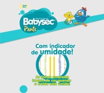 Ranking promobit: Indicador de umidade da Babysec Pants