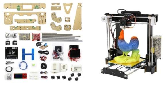 Kit Diy da impressora 3d ANET A8