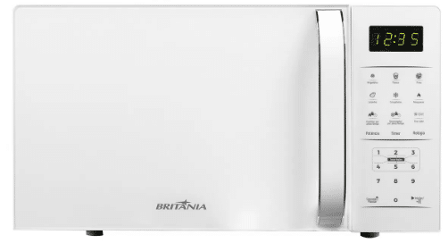 Micro-Ondas Britânia BMO23BB 20L Branco